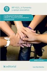 E-book Fomento y apoyo asociativo. SSCG0112