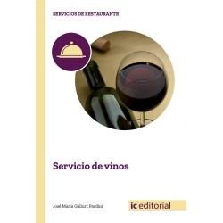 Libro Servicio De Vinos