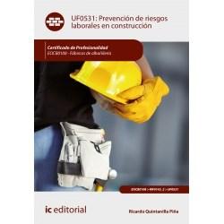 Papel Prevención De Riesgos Laborales En Construcción. Eocb0108 - Fábricas De Albañilería