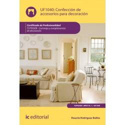 Papel Confección De Accesorios Para Decoración. Tcpf0309 - Cortinaje Y Complementos De Decoración