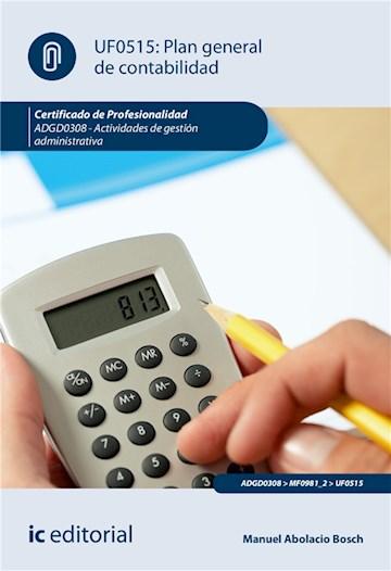 E-book Plan General De Contabilidad. Adgd0308