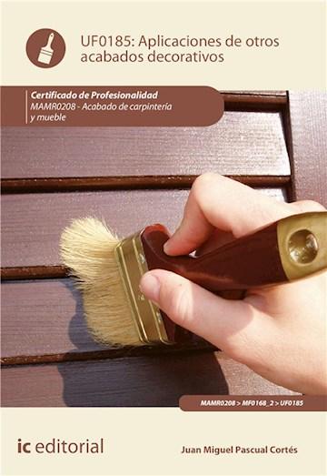 E-book Aplicación De Otros Acabados Decorativos. Mamr0208