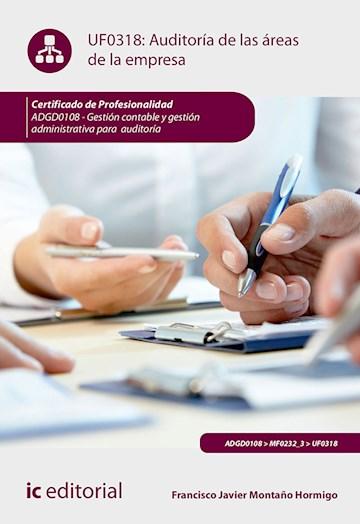 Papel Auditoría De Las Áreas De La Empresa. Adgd0108 - Gestión Contable Y Gestión Administrativa Para Audi