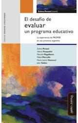 Papel EL DESAFIO DE EVALUAR UN PROGRAMA EDUCATIVO