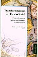 Papel TRANSFORMACIONES DEL ESTADO SOCIAL PERSPECTIVAS SOBRE L  A INTERVENCION SOCIAL EN IBEROAMERI