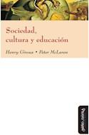 Papel SOCIEDAD CULTURA Y EDUCACION