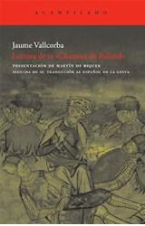 Papel LECTURA DE LA CHANSON DE ROLAND