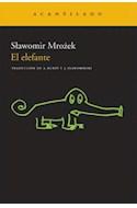 Papel ELEFANTE (2 EDICION) (NARRATIVA 175) (RUSTICO)