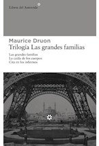 Papel TRILOGIA LAS GRANDES FAMILIAS 3 TOMOS