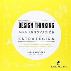 Libro Design Thinking  Para La Innovacion Estrategica