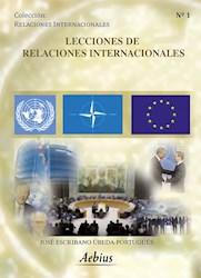 Libro Lecciones De Relaciones Internacionales