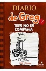 Papel DIARIO DE GREG 7 TRES NO ES COMPAÑIA