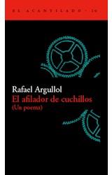 Papel AFILADOR DE CUCHILLOS, EL.(UN POEMA)