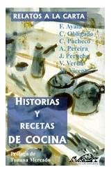 Papel Relatos A La Carta, Historias Y Recetas De Cocina