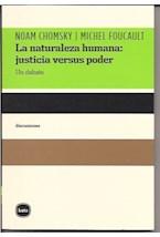 Papel NATURALEZA HUMANA: JUSTICIA VERSUS PODER