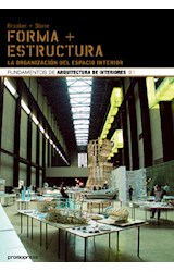 Papel FORMA + ESTRUCTURA LA ORGANIZACION DEL ESPACIO INTERIOR