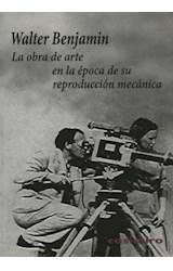 Papel LA OBRA DE ARTE EN LA EPOCA DE SU REPRODUCCION MECANICA
