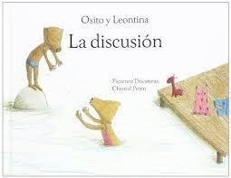 Papel LA DISCUSION OSITO Y LEONTITA