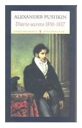 Papel DIARIO SECRETO 1836-1837