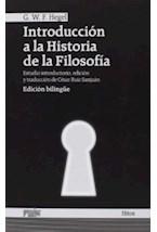 Papel INTRODUCCION A LA HISTORIA DE LA FILOSOFIA