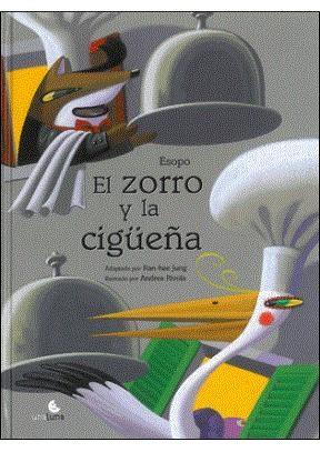 Papel Zorro Y La Cigüeña, El