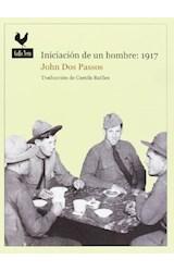 Papel INICIACION DE UN HOMBRE . 1917