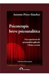E-book Psicoterapia Breve Psicoanalítica