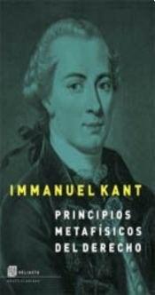 Papel Principios Metafisicos Del Derecho