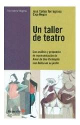 Papel UN TALLER DE TEATRO, CON ANALISIS Y PROPUEST