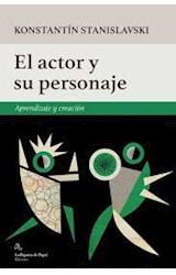Papel EL ACTOR Y EL PERSONAJE