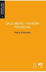 Papel SALUD MENTAL Y ATENCION PSICOSOCIAL