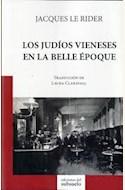 Papel LOS JUDIOS VIENESES EN LA BELLE EPOQUE