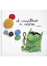 Papel El Monstruo De Colores (Nueva)