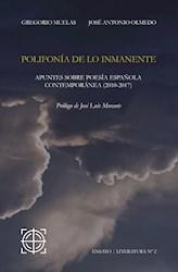 Libro Polifonia De Lo Inmanente