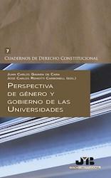 Libro Perspectiva De Genero Y Gobierno De Las Universid