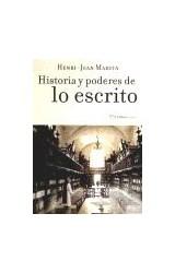 Papel HISTORIA Y PODERES DE LO ESCRITO