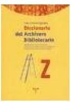 Papel Diccionario del archivero-bibliotecario