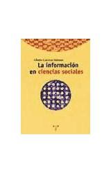 Papel La información en ciencias sociales