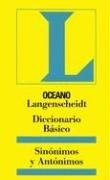 Papel Sinonimos Y Antonimos (Diccionario Basico