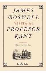 Papel JAMES BOSWELL VISITA AL PROFESOR KANT