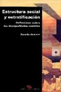 Papel ESTRUCTURA SOCIAL Y ESTRATIFICACION REFLEXIONES SOBRE L