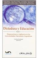Papel DICTADURA Y EDUCACION 2 DEPURACIONES Y VIGILANCIA EN LA