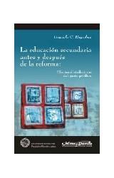Papel EDUCACION SECUNDARIA ANTES Y DESPUES DE LA REFORMA: EFECTOS