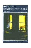Papel MISTERIO DEL CUARTO AMARILLO (ROULETABILLE 1) (SERIE MISTERIO)