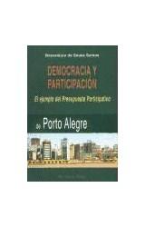 Papel DEMOCRACIA Y PARTICIPACION. EL EJEMPLO DEL P