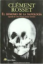 Papel EL DEMONIO DE LA TAUTOLOGIA