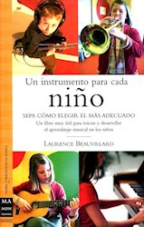 Libro Un Instrumento Para Cada Niño