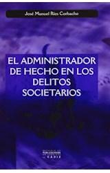 Papel EL ADMINISTRADOR DE HECHO EN LOS DELITOS SOC