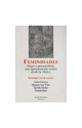 Papel FEMINIDADES (MUJER Y PSICOANALISIS: UNA APROXIMACION CRITICA