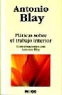 Papel PLATICAS SOBRE EL TRABAJO INTERIOR CONVERSACIONES CON A